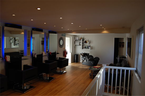 Blu hairdressing the salon for 3 fifty eight salon